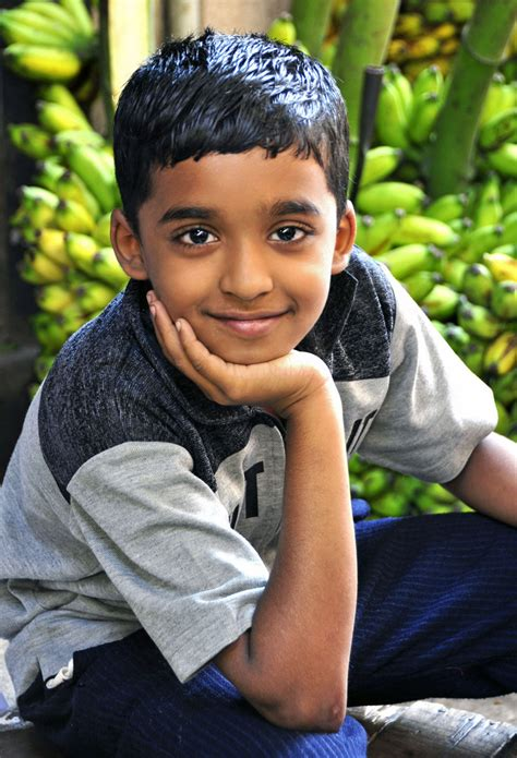 indian boy indian boy with bananas a i photographed in