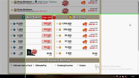 cara membuat akun paypal ninja saga cara beli emblem ninja saga via unipin youtube