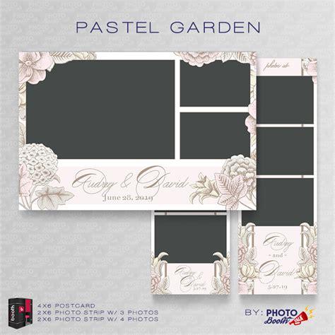 pastel garden for darkroom booth photo booth talk