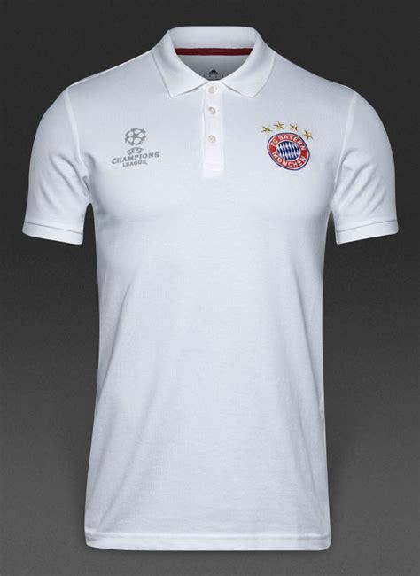 Polo Shirt Adidas 17 uefa bayern munchen adidas polo shirt maglia white 2016 17 ebay
