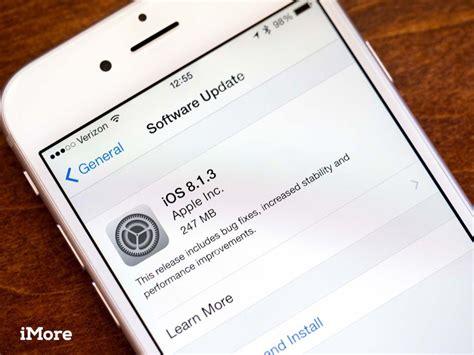 ios update frozen  iphone  ipad heres  fix imore