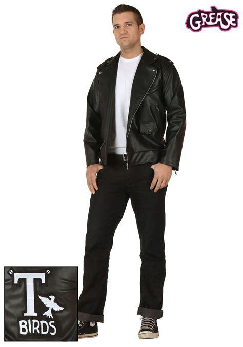 resultado de imagen para plus size men fashion hephaestas adult grease authentic t birds jacket