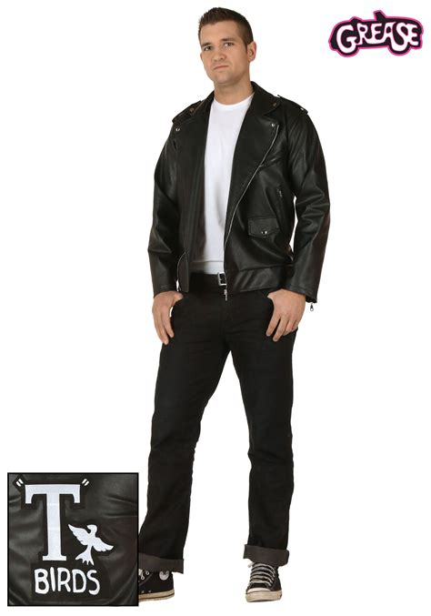 Adult grease authentic t birds jacket