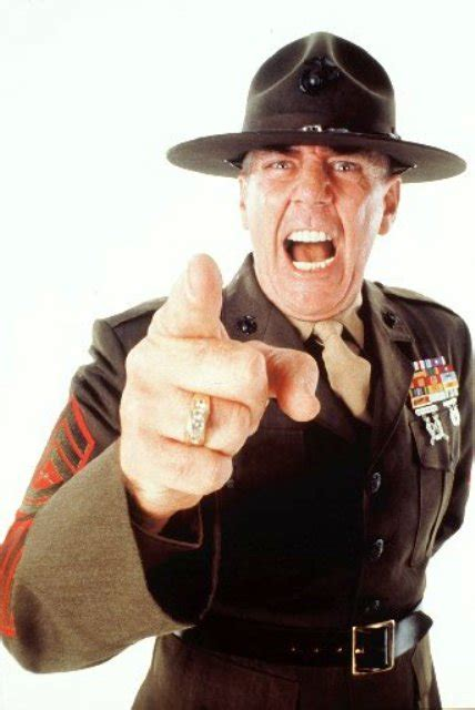 was r ermey in the hd 49 the new is in charge