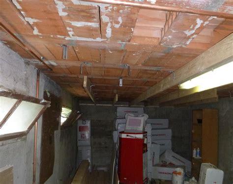 sous plafond isolation plafond sous sol pas cher