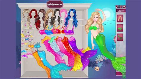 barbie mermaid dress up games 1 barbie mermaid game game for girls dress up games