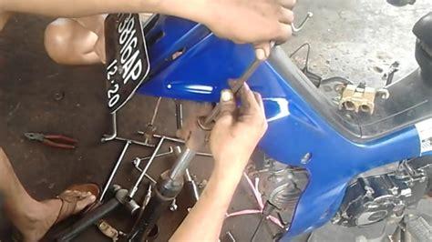 Seal Shock Depan Verza tutorial cara buka ganti dan pasang seal shock depan motor yamaha r