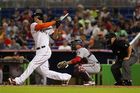 miami marlins stanton koehler put end to 8 skid