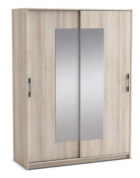 armoire 2 portes cadix acacia