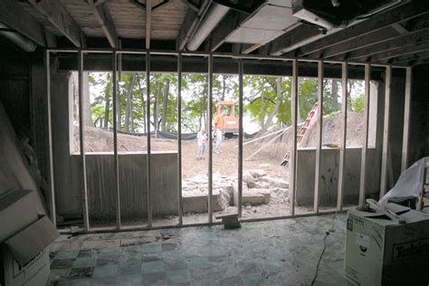 walkout basement construction house plans