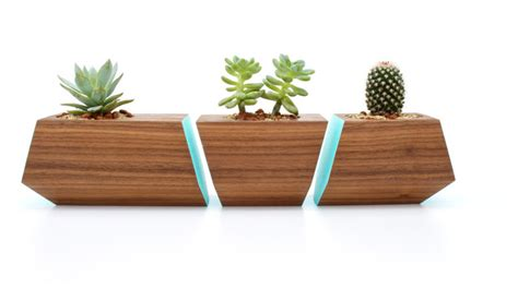 modern pots and planters boxcar planter series modern indoor pots and planters