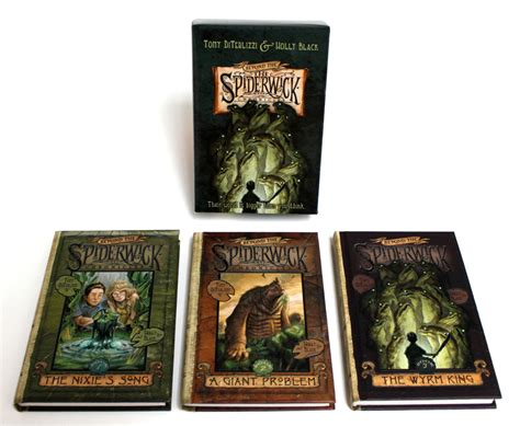 the spiderwick chronicles boxed beyond the spiderwick chronicles boxed set book by tony diterlizzi holly black official