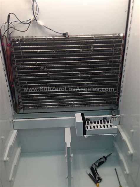 sub zero 532 condenser fan motor sub zero refrigerator evaporator replacement and repair