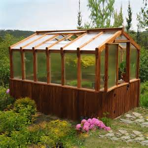 outdoor living today cgh812 8 ft x 12 ft cedar greenhouse lowe s canada