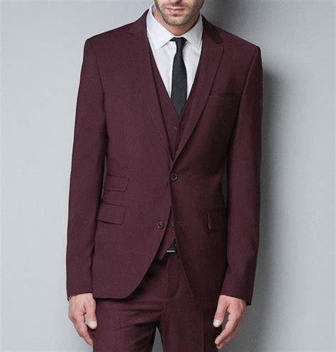 Blazer Zara Maroon casper smart wearing zara maroon two button blazer for