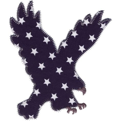 eagle applique eagle applique machine embroidery design patriotic