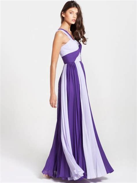 White Purple Dress 20 unique two color bridesmaid dress ideas weddingomania