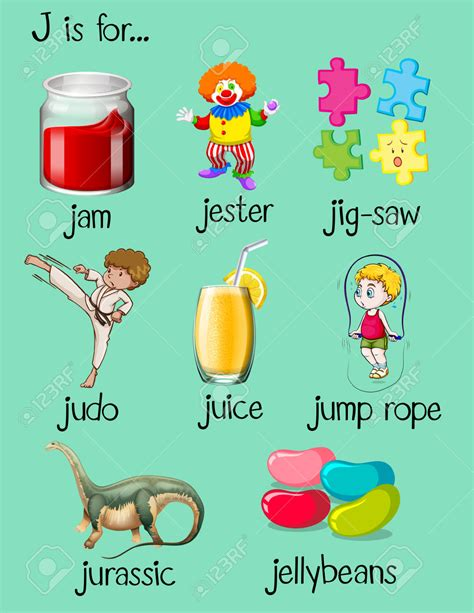 clipart j words clipground