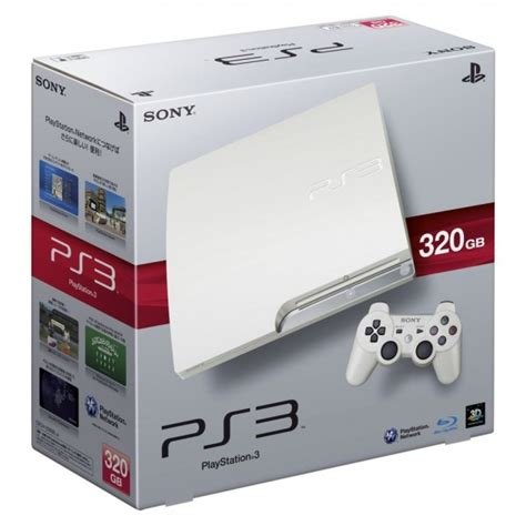 Ps 3 Slim 320gb Cfw 475 Limited Edition ps3 320gb snow white limited edition uncarted move bundel clickbd