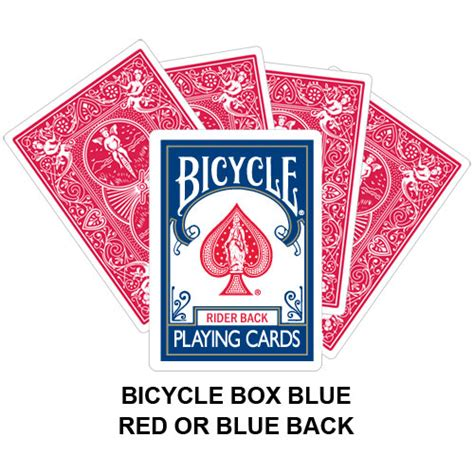 Bicycle Cards Box Template by Bicycle Box Blue Card Gaff Magic