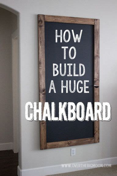 chalkboard paint cheap how to build a chalkboard for cheap every home could