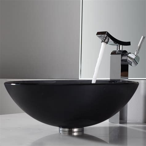vessel sink and faucet combo bathroom luxurious bathroom design with vessel sink and
