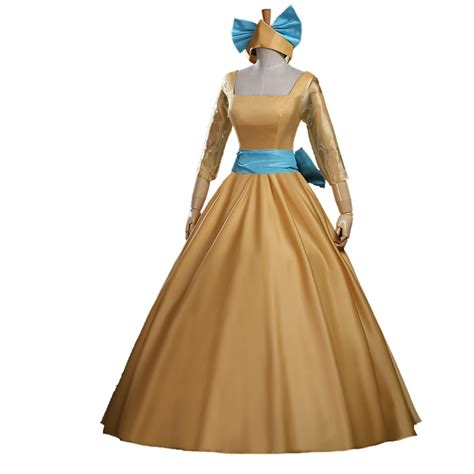 Dress Princess Custome 07 2016 new style princess dress yellow dress