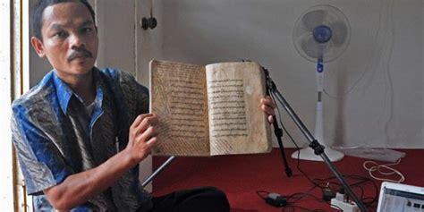 Lu Gantung Jawa Kuno Info Terselubung Museum Sri Baduga Simpan 147 Naskah Kuno