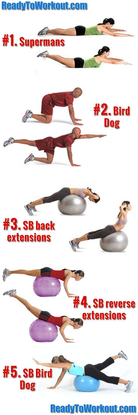 the 25 best low back 25 best ideas about lower back exercises on