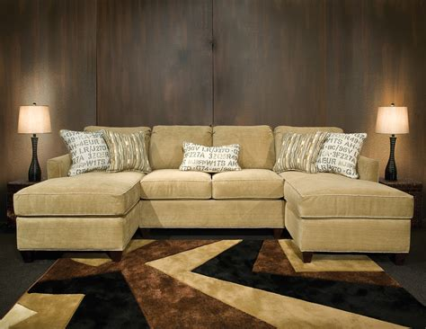 small double chaise sofa sectional sofa with double chaise