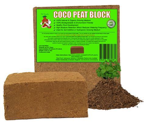 coco peat coco peat block 75 quarts 2 5 cu ft growing medium