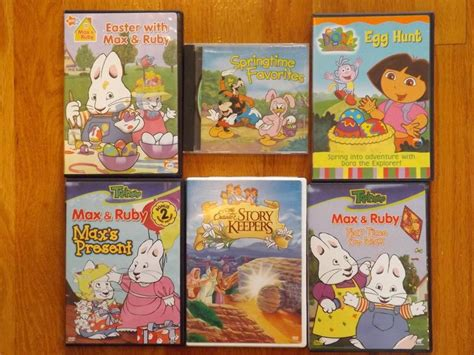 easter dvd 5 max ruby disney cd springtime favorites ebay