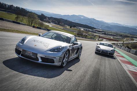 Porsche Cayman Neu by Neue Fahrerlebnisse Porsche Cayman S Und Formel 4
