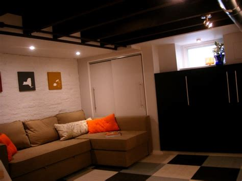 1000 Images About Basement Projects On Pinterest Basement Bedroom Unfinished Ceiling