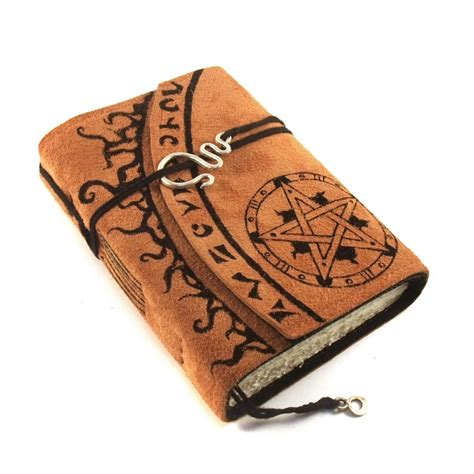 Handmade Grimoire - grimoire leather journal by kreativlink on deviantart