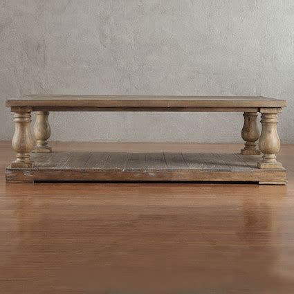 restoration hardware balustrade coffee table restoration hardware balustrade salvaged wood coffee table