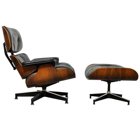 Charles Eames Lounge Chair For Sale by Vintage Rosewood Lounge Chair And Ottoman By Charles Eames