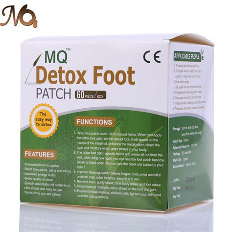 Detox Foot Pads In Stores by 2 Boxes Mq Gold Detox Foot Patch Bamboo Vinegar Pads 240