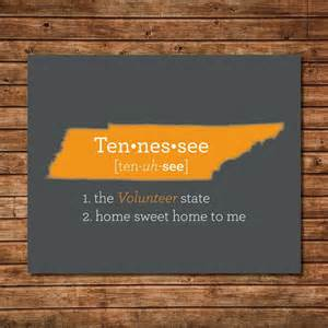 home decor in tn tennessee art tn print map state art state love