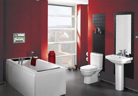 red bathroom decorating ideas 7 great color ideas for painting your bathroom home