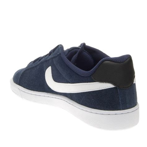 Nike Court Majestic new mens nike court majestic suede trainers midnight navy blue white black ebay