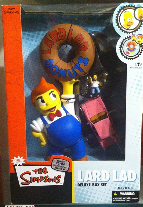 mcfarlane toys the simpsons figure deluxe boxed set lard lad on storenvy