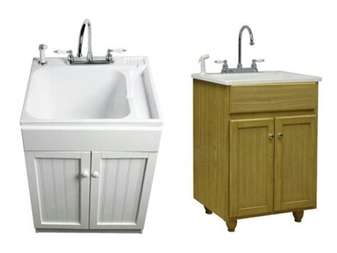 utility tub with cabinet laundry tub cabinet home furniture design