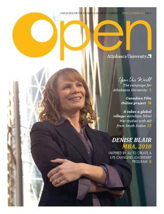 Athabasca Mba Login by Open Magazine 5 2012 Athabasca By
