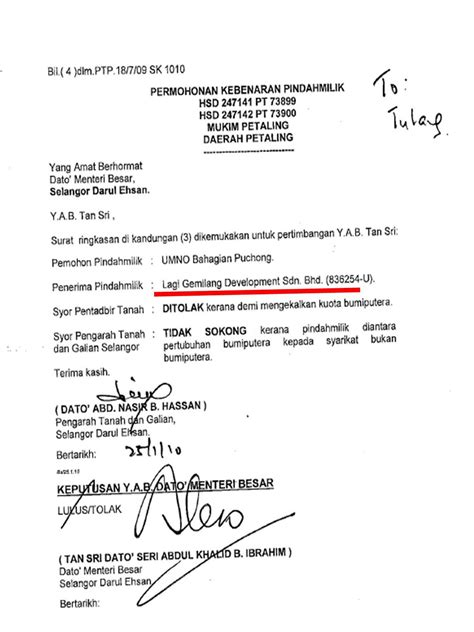 edyesdotcom: GEMPAR!! Permohonan Umno Gadai Tanah Rezab