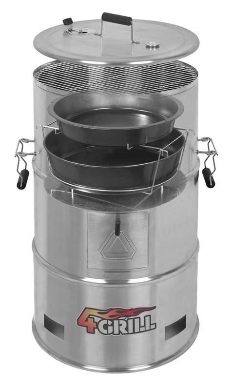 pit barrel cooker the 1 barrel smoker grill on the market batavia 4grill stainless steel 4 in 1 barrel bbq grill smoker cooker pit batavia