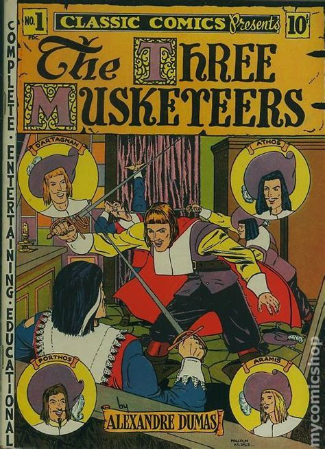Marvel Illustrated The Three Musketeers 6 Book Series Ebooke Book classics illustrated 001 the three musketeers 1946 comic books