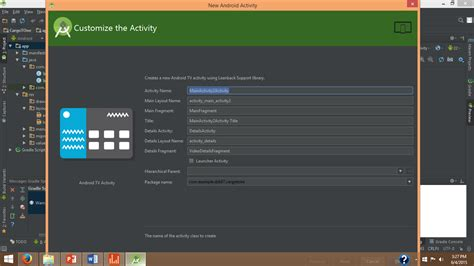 Android Can T by Android Studio Can T Create New Activity Stack Overflow