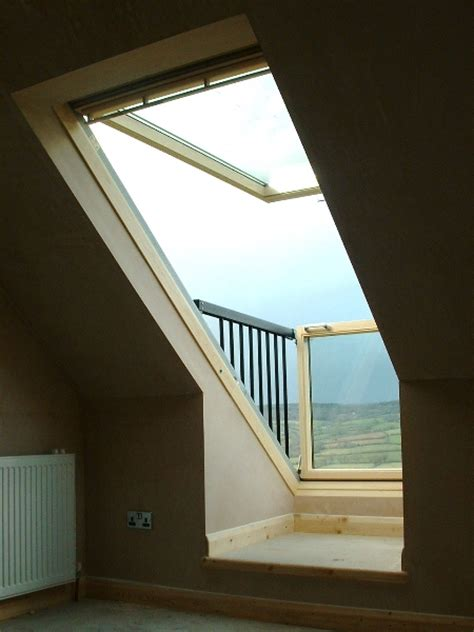 The Velux Cabrio Balcony System Fits Snugly To The Roof Instant Patio System