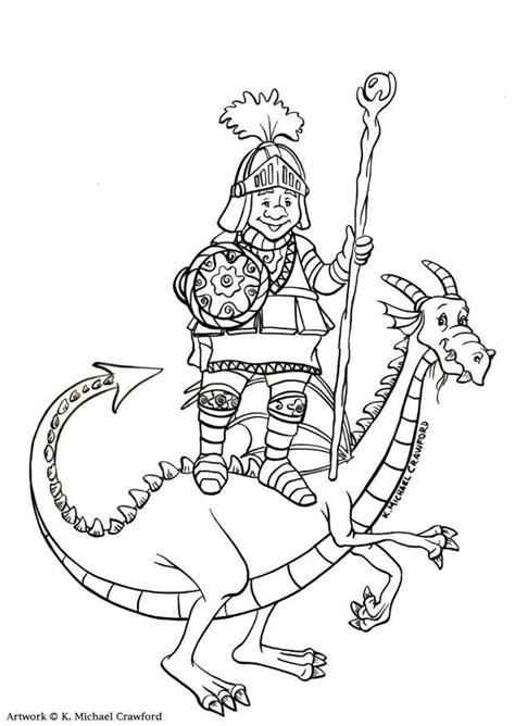 dragon slayer coloring page coloring page dragon slayer img 11036
